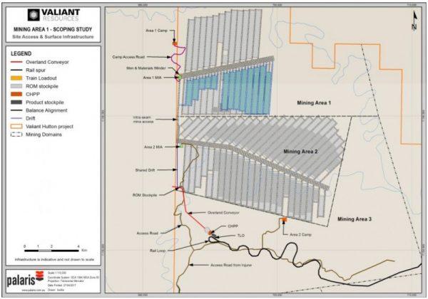 Initial Focus: Mining Areas 2 & 1